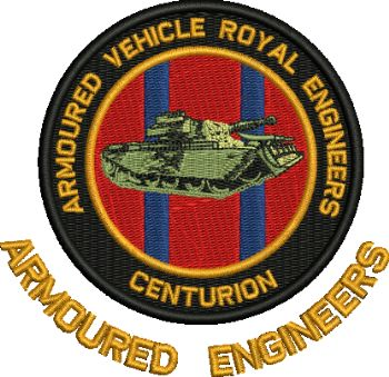 ARMOURED ENGINEERS REUNION EMBROIDERED T- SHIRTS
